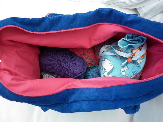 Cord bag - inside
