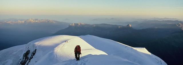passing on the ridge