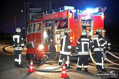 Großbrand Entsorgungsbetrieb 01.03.13