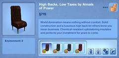 High Backs, Low Taxes by Annals of Power