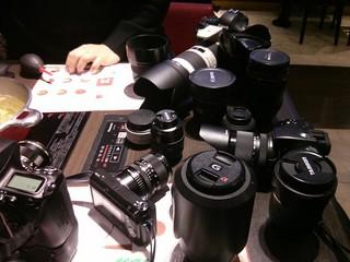 How many cameras, lens?