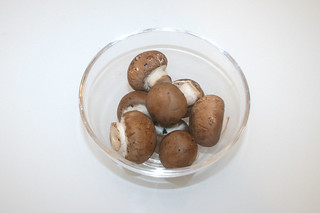 04 - Zutat Champignons / Ingredient mushrooms