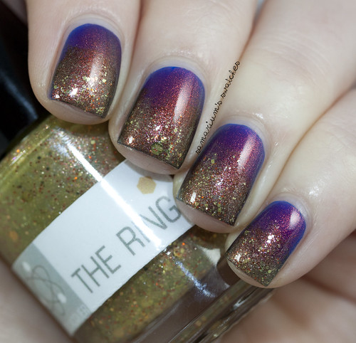 Nerd Lacquer The Ring over Ninja Polish Divinity (4)