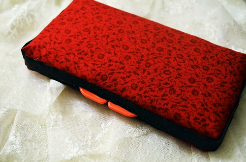 Red and Black Wipe Travel Case