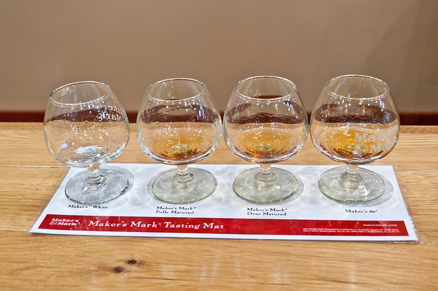 Makers Mark Tasting Mat | PopArtichoke