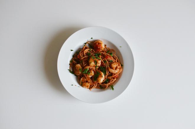 shrimpfra diavolo