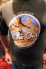 Time Out t-shirt at the 25th birthday