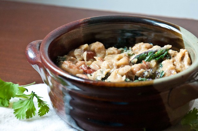 White Bean Chicken Chili with Kale | PopArtichoke