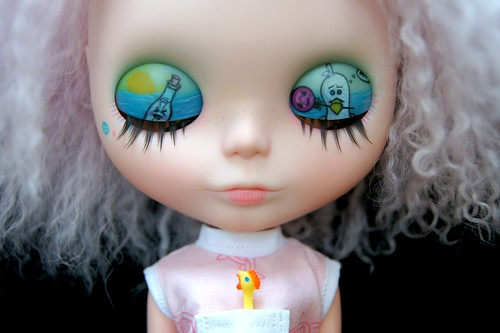 Message in a Bottle Custom #129 ~ Eyelids & Lashes