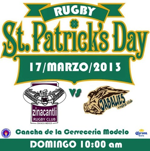 Saint Patrick's Day Rugby