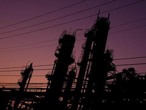 Kawasaki Factory dusk scene 07