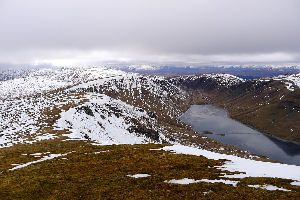 The hills above Loch an Daimh