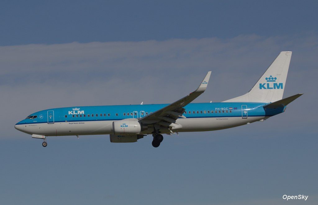KLM Royal Dutch Airlines Boeing 737-8K2(WL) PH-BGC (cn 30361)