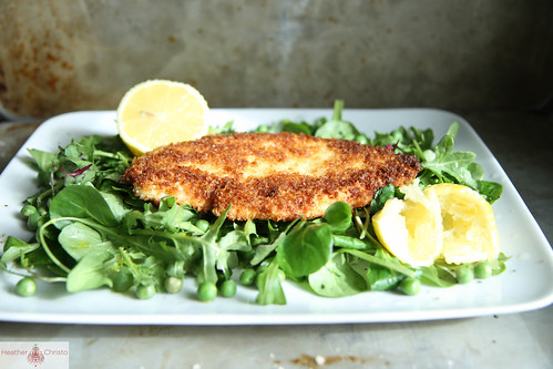 Pan Fried Chicken Paillard