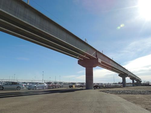 Photo of Interstate 70 Flyover commuter rail bridge in Aurora