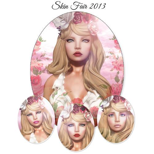 Skin Fair 2013 - LOGO by Ekilem Melodie - MONS