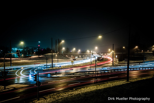 Lights at a busy evening by Dirk Mueller Photography