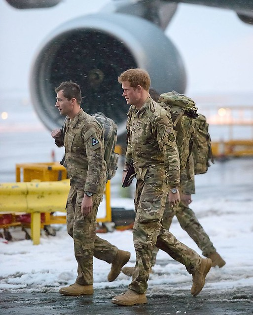 HRH Prince Harry Returns To The UK Following His