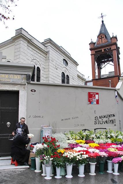 Armenian church in Kadikoy, Istanbul, Turkey カドゥキョイのアルメニア教会