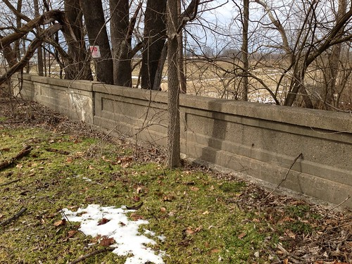 Abandoned US 40 bridge