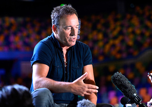 Bruce Springsteen in Brisbane (Australia) Photo: Bradley Kanaris