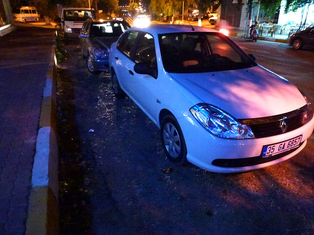 Turquie - jour 5 - Kaş - 20 - Renault Symbol