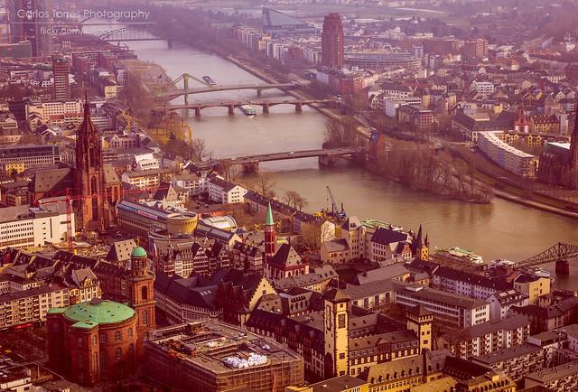 Frankfurt von Himmel 1