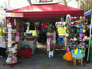 The whole 10 x 10 booth @Torrance Spring 2013