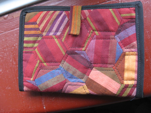 Patchwork kindle cover