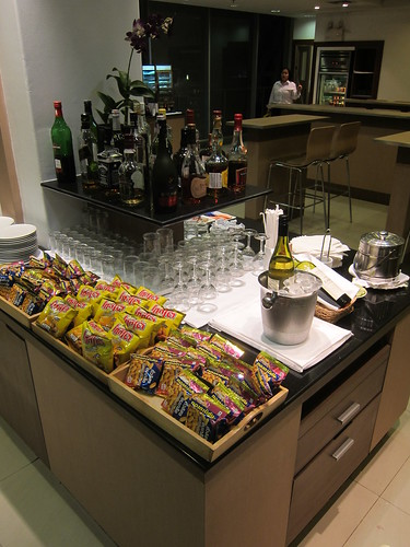 AirFrance Lounge at Bangkok Airport