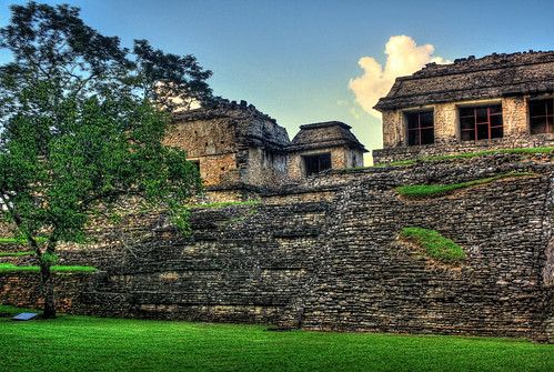 Palenque MEX - The north group