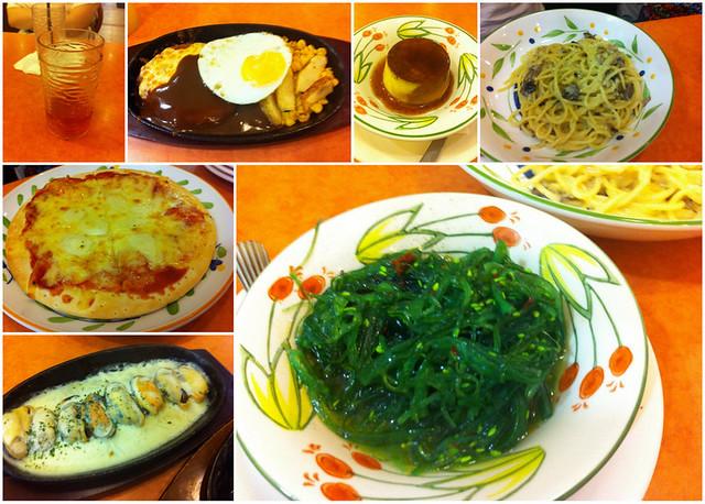 Saizeriya food. Oishiii