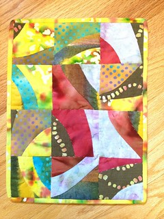 AAQI Mini Quilt by Suzy Boyle