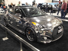 automobile, automotive exterior, hyundai, wheel, vehicle, automotive design, auto show, mid-size car, hyundai veloster, bumper, land vehicle, coupã©, sports car,