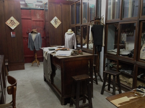 Singapore Chinese Heritage Museum - tailor's shop