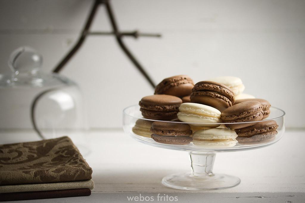Macarons de avellana