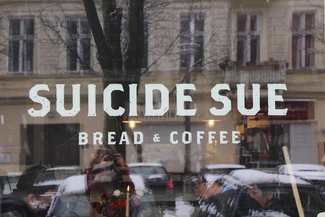 Kaffeeklatsch: Suicide Sue (Berlin)