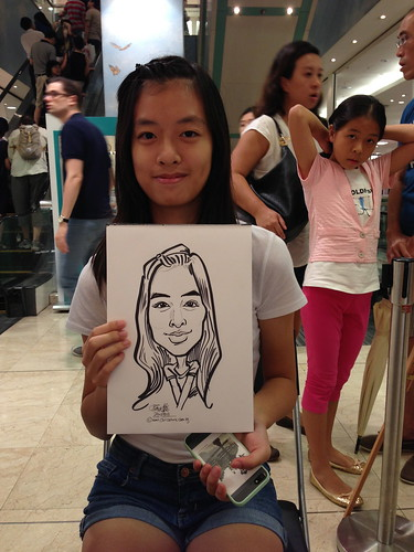 caricature live sketching for Takashimaya Good Friday Special - 38