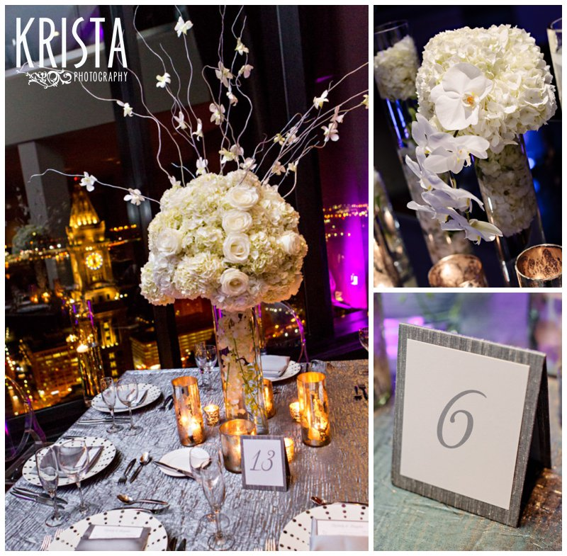 Fabulous State Room wedding details