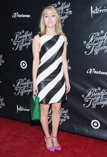 Anna Sophia Robb Monochrome Trend Celebrity Style Women's Fashion