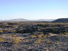 2007 - Amboy Crater Lava Fields - Mojave Desert, California