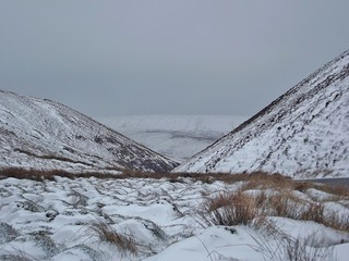 The Trough of Bowland, Lancashire, England - March 2013
