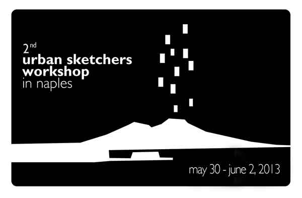 2nd urban sketchers workshop in naples