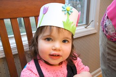 Lydia w/ Easter Crown