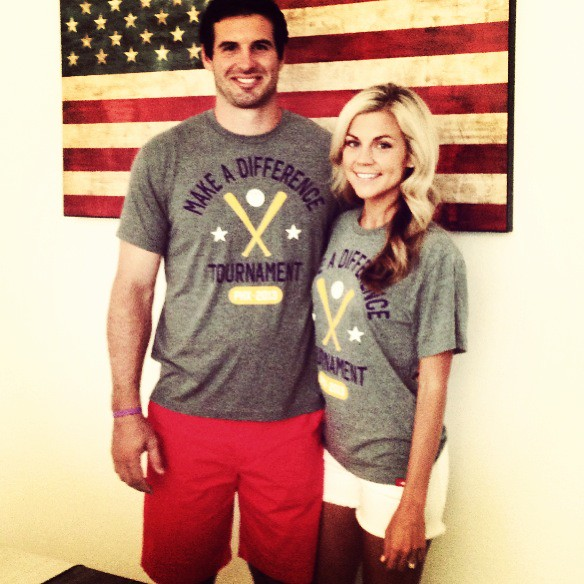 Christian and Sam Ponder Make A Difference Shirt