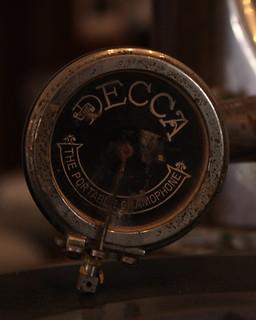 The Decca The Portable Gramophone