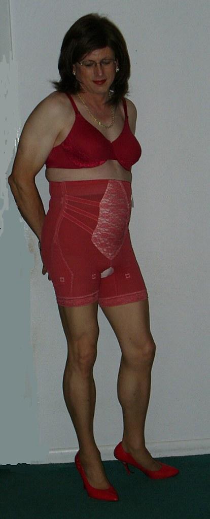 Custom Maid Red Girdle - Olga Bra 4 - a photo on Flickriver