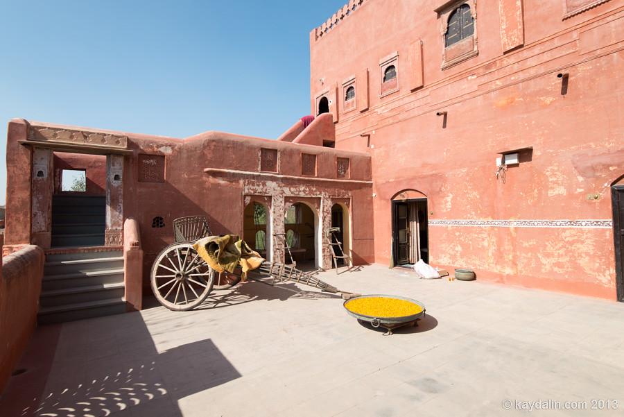 Индия, Биканер. Отель