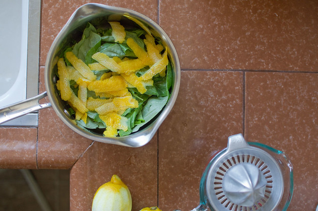lemon + basil