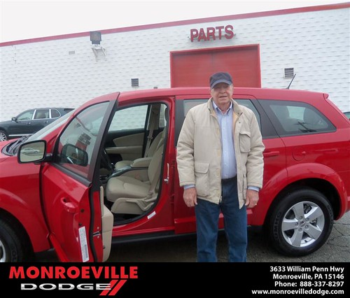 Monroeville Dodge would like to say Congratulations to Preston Brewer on the 2013 Dodge Journey by Monroeville Dodge